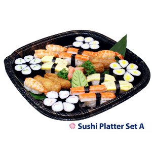 Our Sushi Platters are available for online ordering!